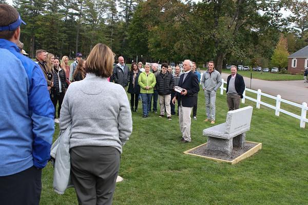 Gordie Borek Bench Dedication   September 30