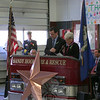 Gov Malloy and Lt Gov Wyman shared the duty of reading the names of the 26 victims.
