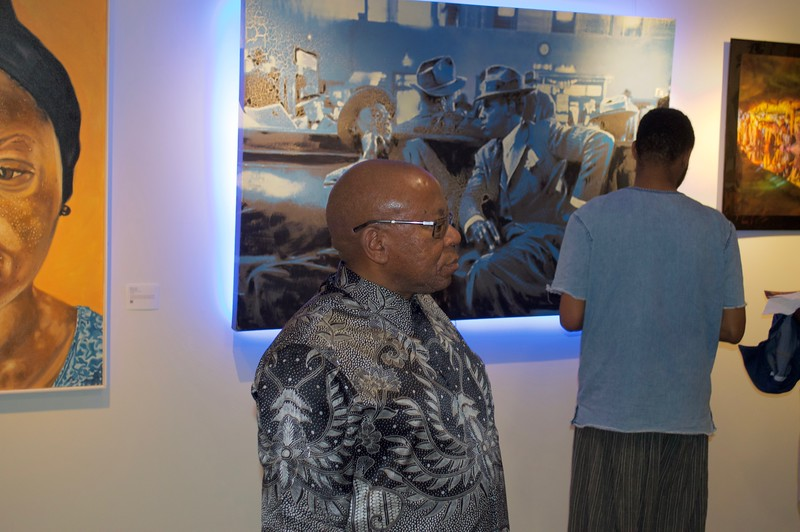 GOLDEN -- Juried Art Exhibition Opening Reception