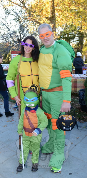 KB_Halloween -- Ninja Turtle family