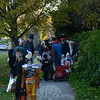 KB_Halloween -- crowded sidewalk