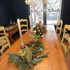 The interior of 1 Schoolhouse Hill Road was decorated in a whimsical American style for the recent Newtown Holiday Festival.  (Bobowick photo)