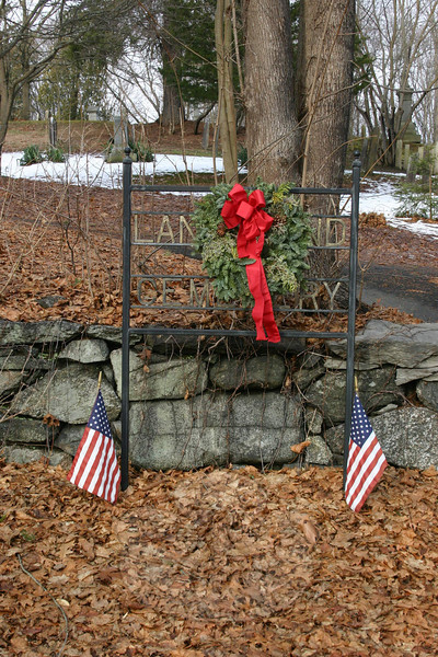 Lands End Cemetery, Hawleyville.  (Hicks photo)