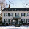 Honan Funeral Home, at 58 Main Street in Newtown.  (Hicks photo)