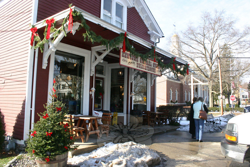 Newtown General Store is all decked out for the holidays.  (Hicks photo)