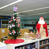 Decorations in the Children's Department at C.H. Booth Library.  (Hicks photo)