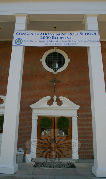 St Rose of Lima Church, Newtown.  (Hicks photo)