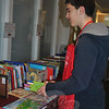 The Friends of Booth Library hosted a special two-day holiday book sale December 4-5.  (Crevier photo)