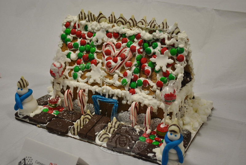 Newtown Youth & Family Services received 16 entries for its 2010 Gingerbread House Contest. All of the architects are winners in our books.  (Crevier photo)