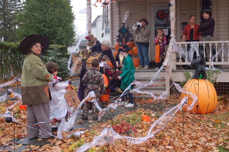 Halloween in Main Street, 2009. (Hallabeck photo)