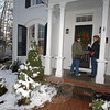 Owned by George and Ellie Whalen, the home at 65 Main Street was included in one of the most popular events of each year's Holiday Festival, the walking tour of private homes.  (Bobowick photo)