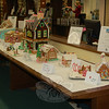 The Third Annual Gingerbread House Contest sponsored by Newtown Youth & Family Services put the frosting on the cake of the weekend's holiday activities in town. Entries were displayed on the main floor of C.H. Booth Library last weekend. (Crevier photo)