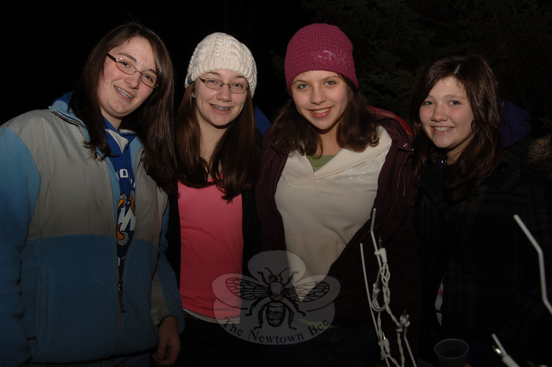 Tree lighting at Ram Pasture on Friday, December 4, 2009.  (Bobowick photo)