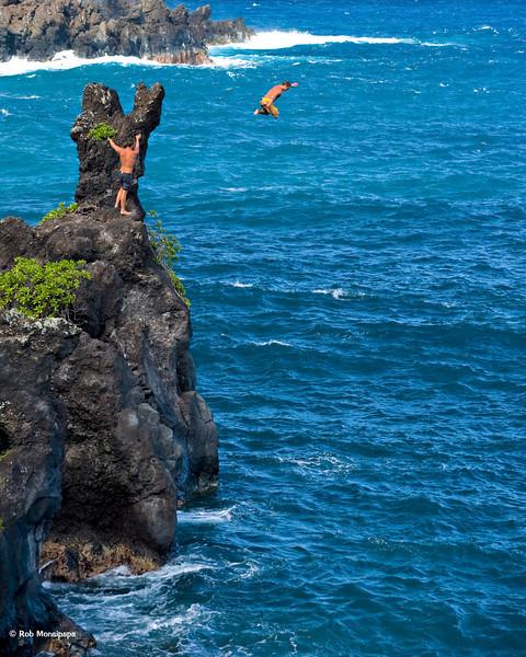 RM Cliff jumping at Hana State Park 700_5492