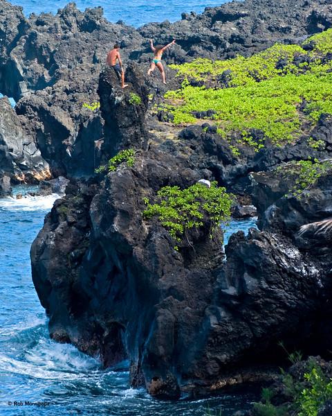 RM Cliff jumping at Hana State Park 700_5476
