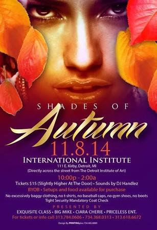 International Institute 11-8-14 Saturday