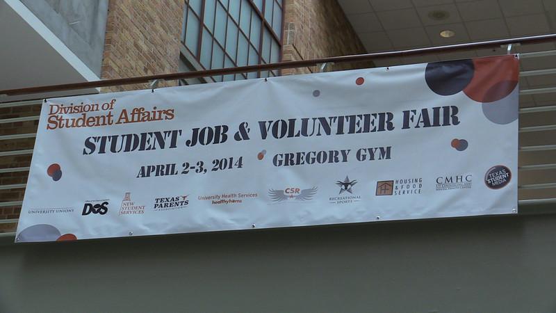 Job & Volunteer Fair: Spring 2014