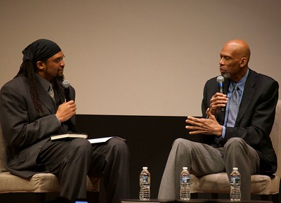 Etan Thomas interviewing Kareem Abdul Jabbar