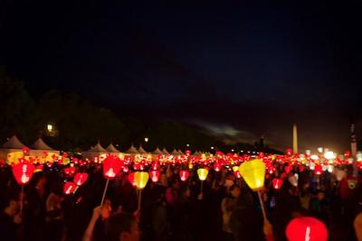 Light The Night  -  National Mall (Washington, DC)  Oct. 2017