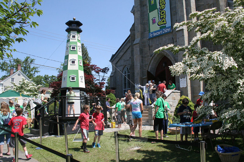Lighthouses and all things related to the maritime beacons took over Trinity Episcopal Church last weekend. It was all part of The Lighthouse Festival, the first event presented by the recently formed organization Ben's Lighthouse.   (Hicks photo)