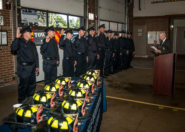Lisle-Woodridge Fire District Hires 10 new Firefighters 09-10-18