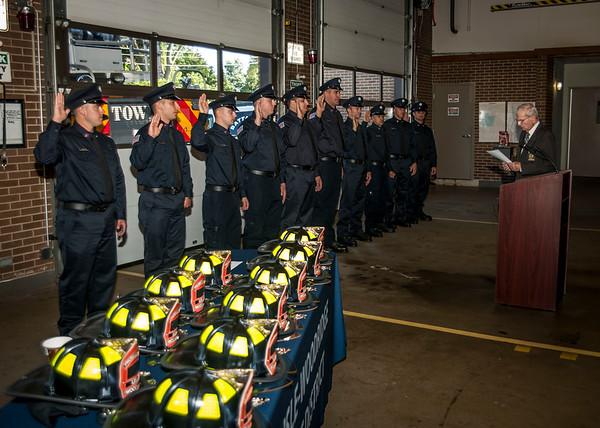 Lisle-Woodridge Fire District Hires 10 new Firefighters 09-10-18