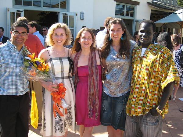 2009 MIIS Graduation reception