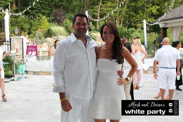 Mark and Elaina's White Party