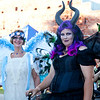 """Georgianna Skinner (Background), with Laurie Skinner (foreground) whose """"Maleficent"""" inspired array took the Midsummer's Night Dream Queen's crown for best costuming."""