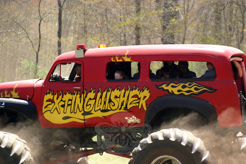 Monster Trucks Take Over Sandy Hook Volunteer Fire & Rescue