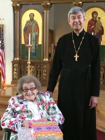 Mrs. Basarab's 93rd birthday