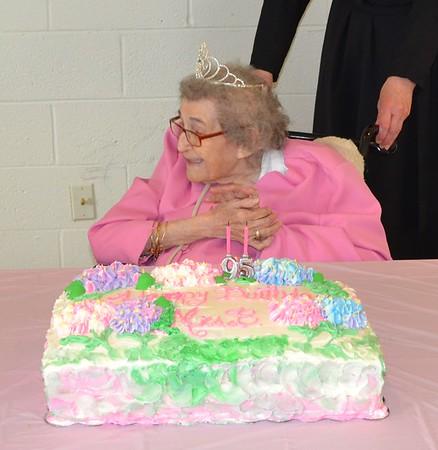 Mrs. Basarab's 95th