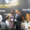 Dr. Carlisle poses with an NMA convention attendee in Philadelphia.