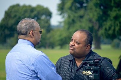 Ed Gordon and Roland Martin