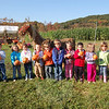 Newtown Congregational preschool students took a trip on Monday to Castle Hill Farm on Sugar Lane.  (Bee Photo, Hallabeck)