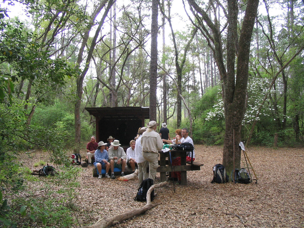 Jackson Trail Shelter<br /> PHOTO CREDIT: Linda Benton/Florida Trail Association