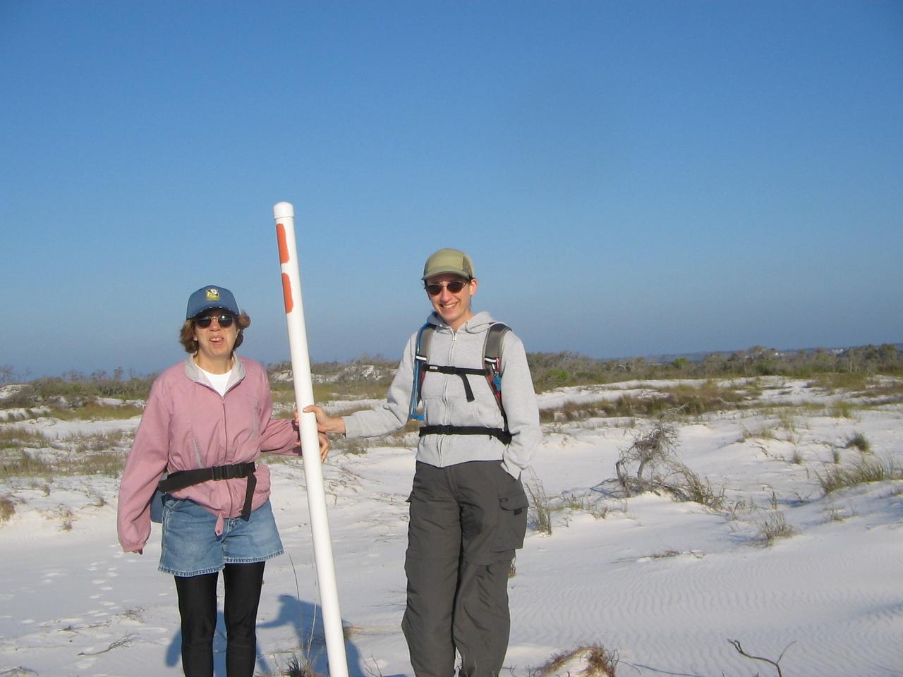 Panhandle Trace Hike, Santa Rosa Island<br /> PHOTO CREDIT: Peggy Grantham / Florida Trail Association