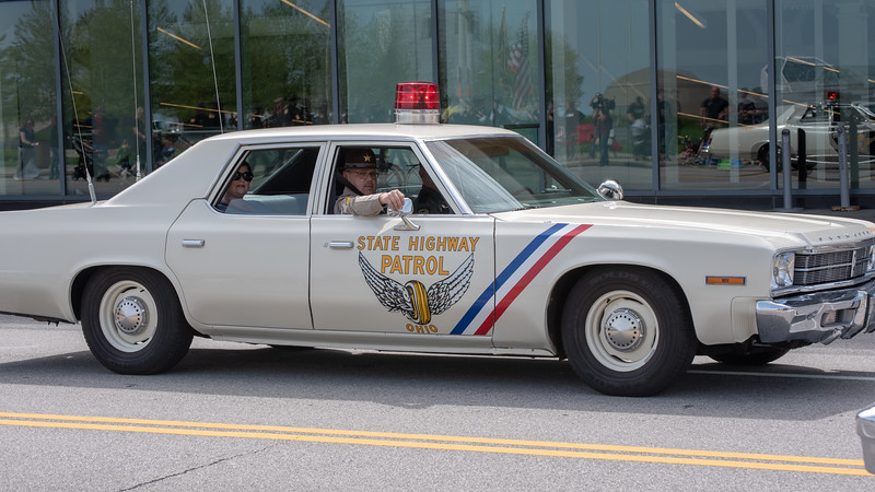 Ohio State Highway Patrol Vintage Patrol Car