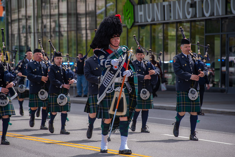 Drum Major - Durham Regional Police Pipe Band