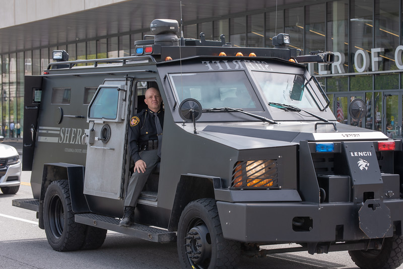Cuyahoga County Sheriff's Office Tactical Vehicle