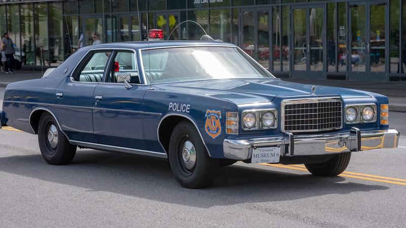 Cleveland Police Vintage Patrol Car