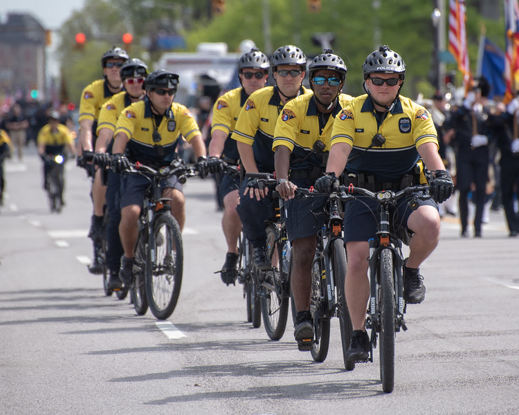 Bicycle Unit of the Cleveland Division of Police