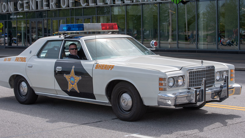 Sheriff's Office Vintage Patrol Car