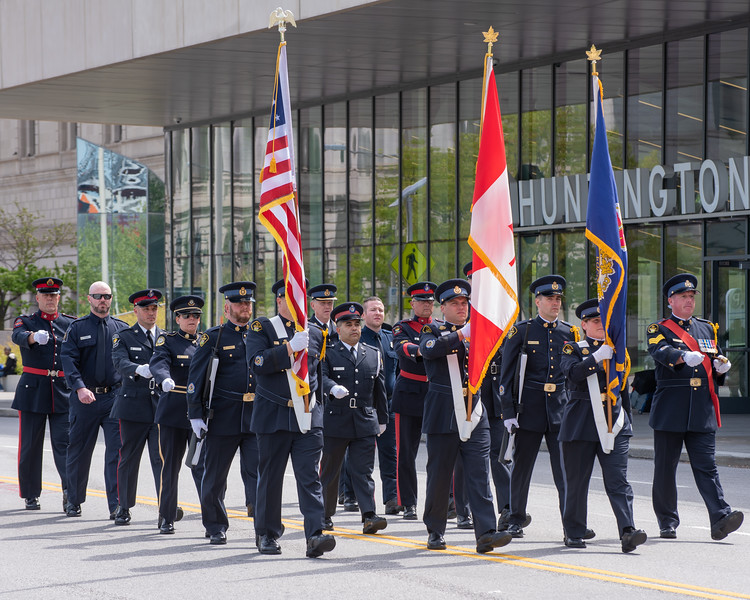 Color Guard of the Ontario Provincial Police