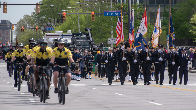 Cleveland Division of Police On Parade
