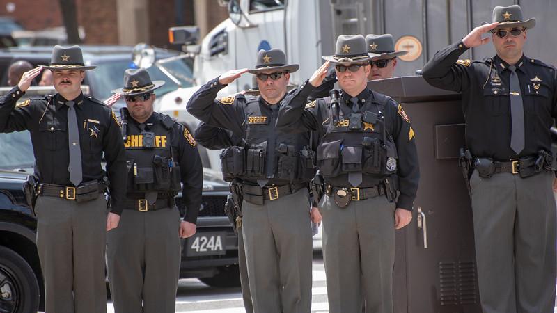 Sheriff's Salute