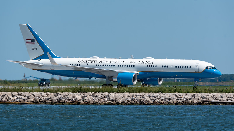 Air Force Two as Air Force One