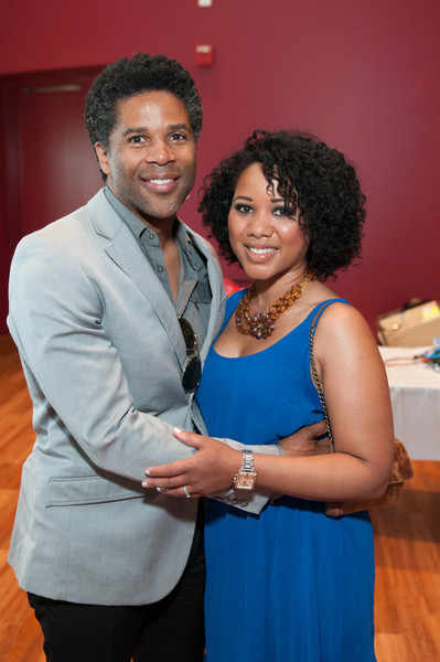 Illinois Department of Public Health (IDPH) Director Dr. LaMar Hasbrouck and his lovely wife