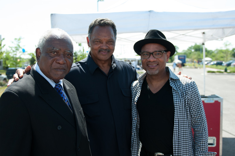 Congressman Danny K. Davis, Rev.Jesse L. Jackson, Sr., and headliner 2011 Grammy Award Winning Jazz Saxaphonist Kirk Whalum