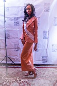 Model Jamilah S. Lindo in Chita Rivera's Bob Mackie